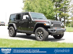 New 2019 Jeep Wrangler UNLIMITED RUBICON 4X4 Sport Utility D191558 Concord, NC