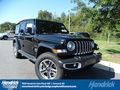 New 2018 Jeep Wrangler UNLIMITED SAHARA 4X4 Sport Utility D182252 Concord, NC