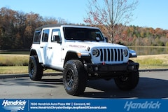 New 2018 Jeep Wrangler UNLIMITED RUBICON 4X4 Sport Utility D182319 Concord, NC
