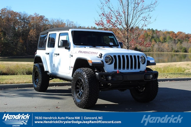 New 2018 Jeep Wrangler UNLIMITED RUBICON 4X4 Sport Utility for sale in Concord, NC