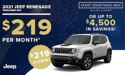 New Jeep Renegade Special