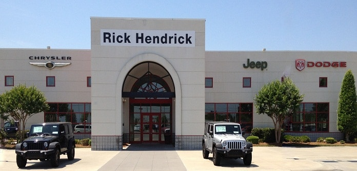 About Hendrick Chrysler Dodge Jeep Ram of Concord