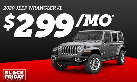 2020 Wrangler - Black Friday Special