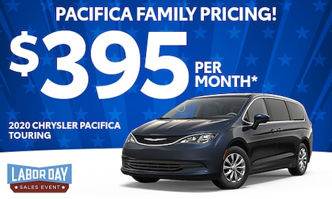 5. New Chrysler Pacifica Lease Offer