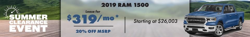 2019 RAM Offer