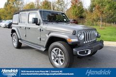 New 2018 Jeep Wrangler UNLIMITED SAHARA 4X4 Sport Utility D182333 for sale in Concord, NC