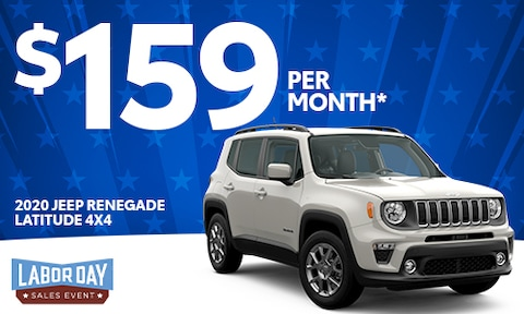 4. New Jeep Renegade Lease Offer