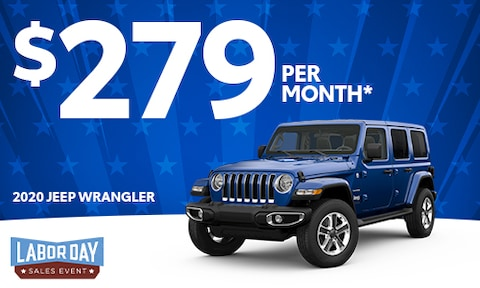 3. New Jeep Wrangler Lease Offer