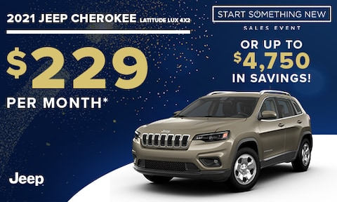New Jeep Cherokee Special