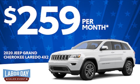 7. 2020 Jeep Grand Cherokee Lease