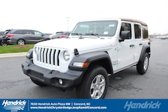 New 2018 Jeep Wrangler UNLIMITED SPORT S 4X4 Sport Utility D182338 Concord, NC
