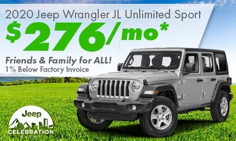 March Wrangler Special