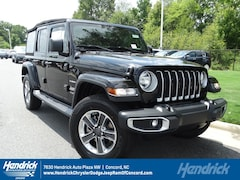 New 2018 Jeep Wrangler UNLIMITED SAHARA 4X4 Sport Utility D182102 Concord, NC