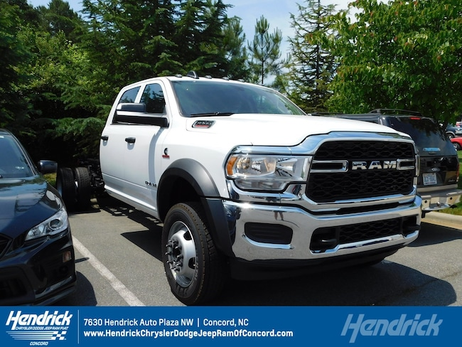 New 2019 Ram 4500 TRADESMAN CHASSIS CREW CAB 4X2 197.4 WB Crew Cab for sale in Concord, NC