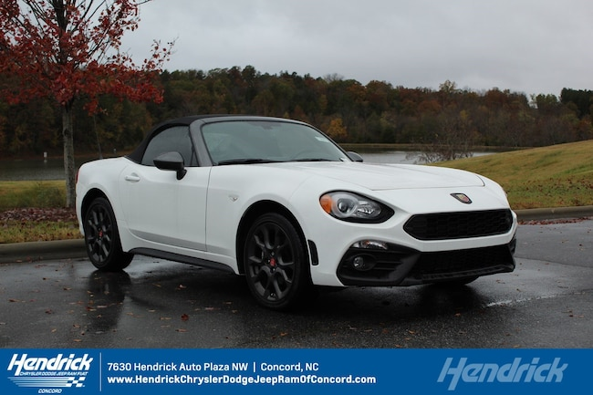 New 2018 FIAT 124 Spider ABARTH Convertible for sale in Concord, NC