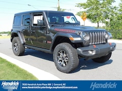 New 2019 Jeep Wrangler UNLIMITED RUBICON 4X4 Sport Utility D191581 Concord, NC