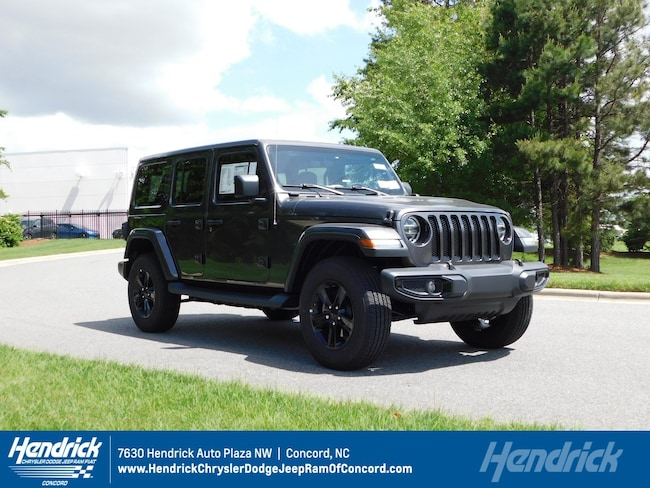 New 2019 Jeep Wrangler UNLIMITED SAHARA ALTITUDE 4X4 Sport Utility for sale in Concord, NC