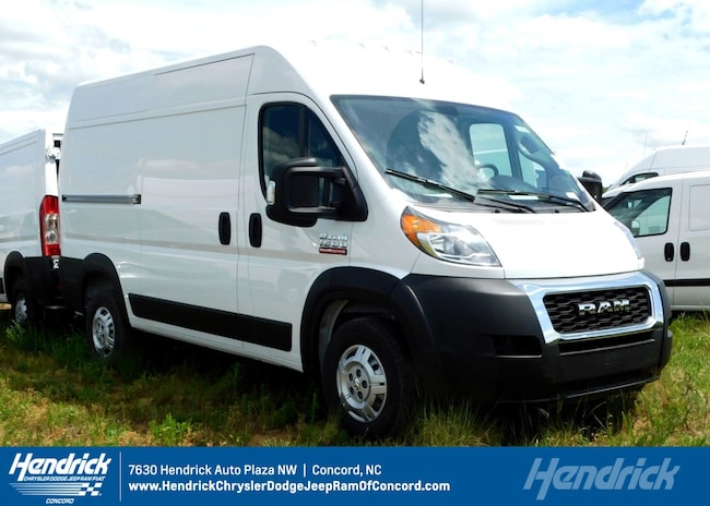 New 2019 Ram ProMaster 1500 CARGO VAN HIGH ROOF 136 WB For
