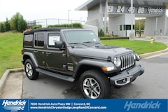 New 2018 Jeep Wrangler UNLIMITED SAHARA 4X4 Sport Utility D182317 Concord, NC
