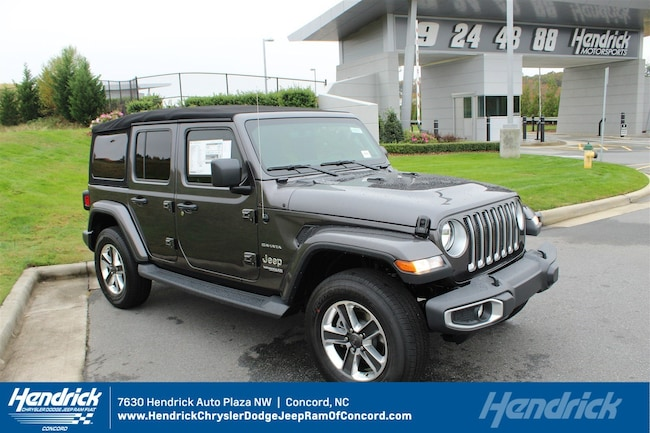 New 2018 Jeep Wrangler UNLIMITED SAHARA 4X4 Sport Utility for sale in Concord, NC
