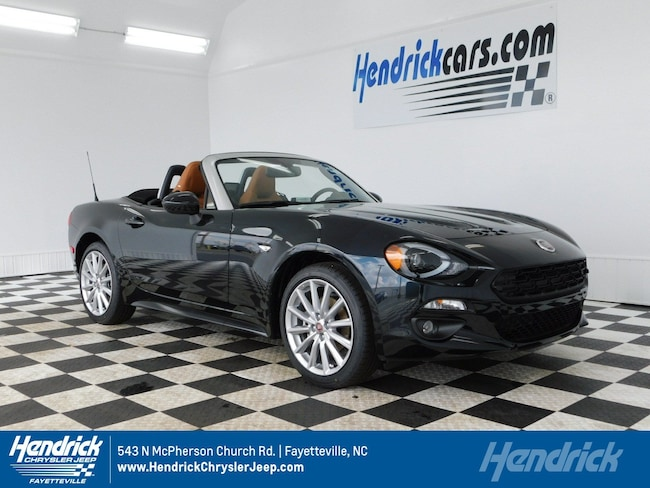 new 2019 fiat 124 spider lusso for sale in fayetteville nc. Black Bedroom Furniture Sets. Home Design Ideas