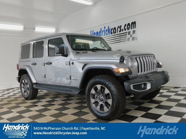 22ee159918fbb New 2018 Jeep Wrangler UNLIMITED SAHARA 4X4 For Sale in Fayetteville ...
