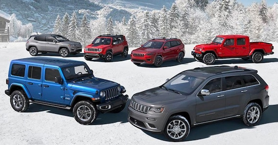 New Jeep Models Hendrick Chrysler Jeep Fiat Fayetteville