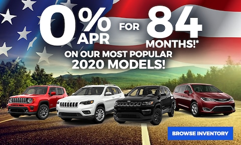 0% Financing for 84 Months