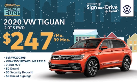 New Tiguan S Special Lease