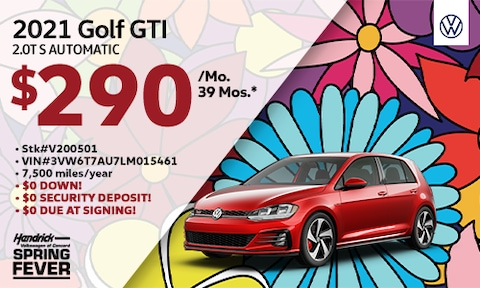 New 2021 Golf GTI Lease Offer