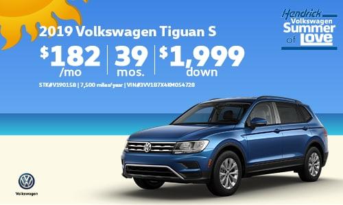 2019 VW Tiguan Offer