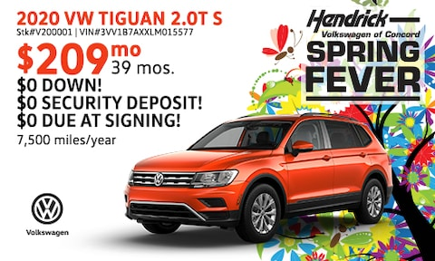 March VW Tiguan Special