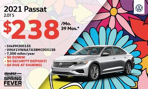 New 2021 Passat Lease Offer