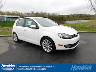 2012 Volkswagen Golf TDI 4-door w/Sunroof & Navigation (A6) Hatchback