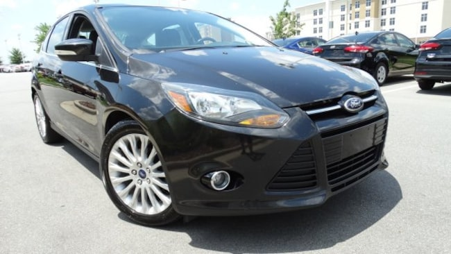 Used 2012 Ford Focus Titanium Hatchback for sale in Cary, NC