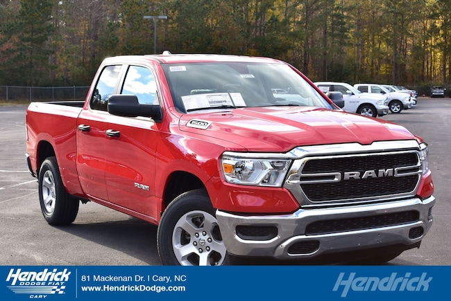 New 2019 Ram 1500 TRADESMAN QUAD CAB 4X4 6'4 BOX Quad Cab in Cary, NC