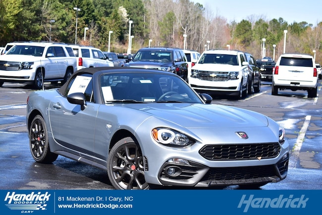 New 2018 FIAT 124 Spider ABARTH Convertible in Cary, NC
