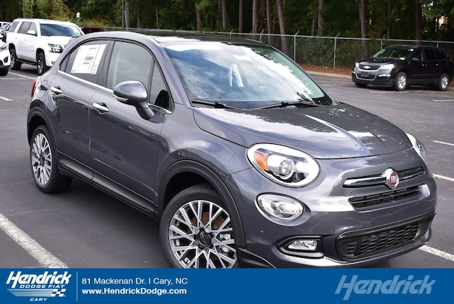 New 2018 FIAT 500X LOUNGE FWD Sport Utility in Cary, NC