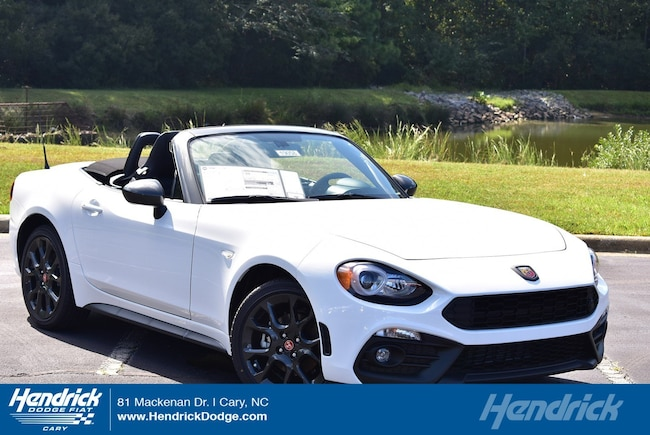 New 2019 FIAT 124 Spider ABARTH Convertible in Cary, NC
