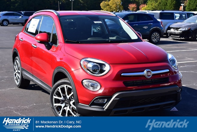 New 2018 FIAT 500X TREKKING FWD Sport Utility in Cary, NC