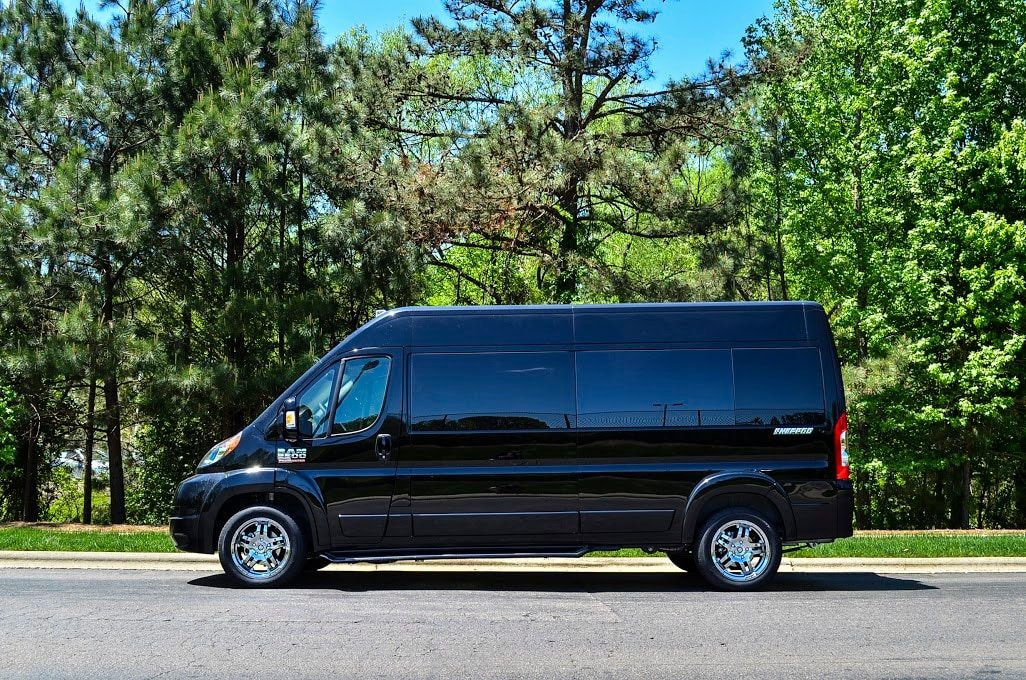 Ram Offers The ProMaster In Multiple Chassis Options To Help Raleigh Buyers Choose Perfect Conversion Van For Their Needs With 3 Different Lengths