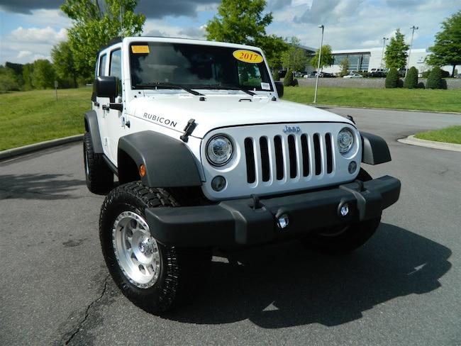 2017 Jeep Wrangler Unlimited Rubicon Convertible