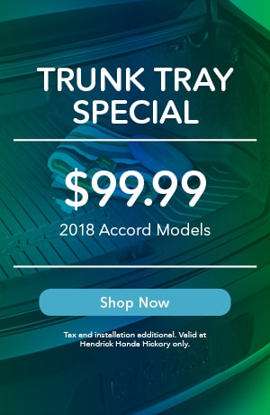 Trunk Tray Special