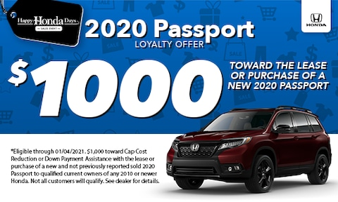 2020 Passport Loyalty Special