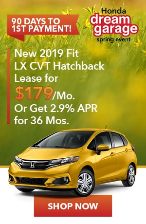 New 2019 Fit LX CVT Hatchback