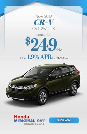 New 2019 CR-V CVT 2WD LX