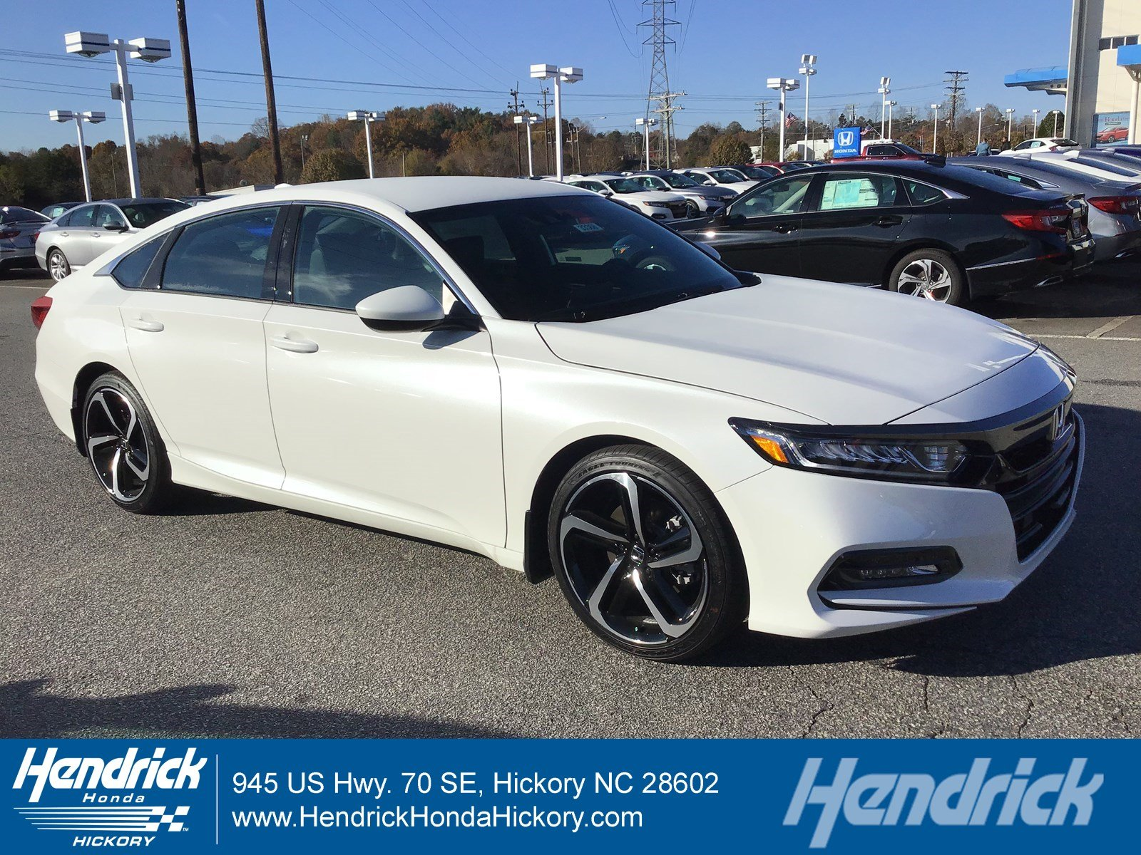 New 2019 Honda Accord Sport 1.5T Sedan 33880 For Sale In Hickory, NC