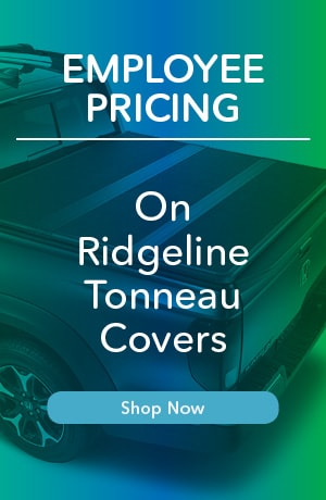 Employee Pricing Ridgeline Tonneau Covers