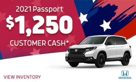Passport Customer Cash