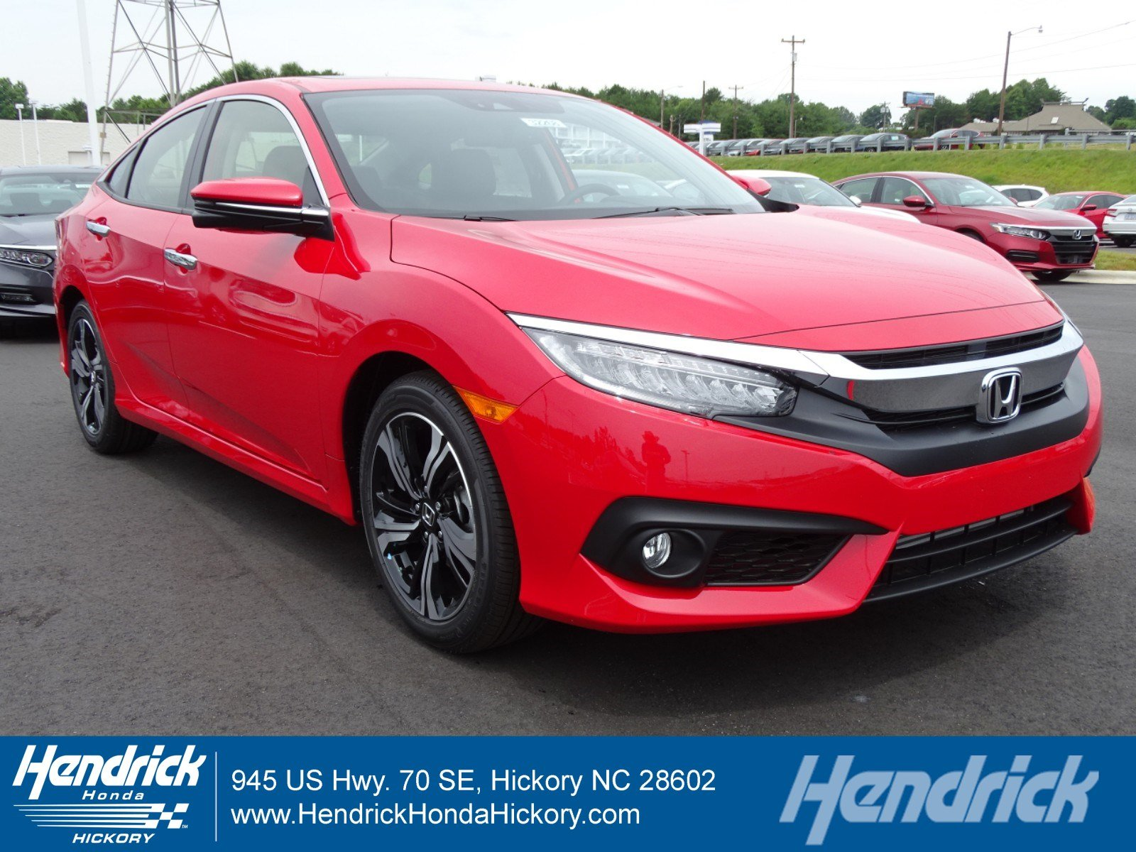 2018 Honda Civic Touring Sedan 32268
